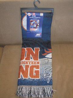 New Peyton Manning Denver Broncos Throw Gift Blanket NFL Football Team