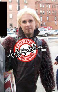 Marilyn Manson John 5 Autographed Signed Guitar Proof PSA UACC RD COA