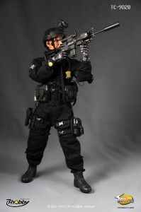 New Hot 1 6 12 Toys City M4A1 Assault Rifle US Navy Seal SDVT 1