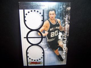 San Antonio Spurs Manu Ginobili Game Worn Jersey 199