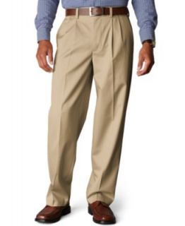 Dockers Pants, D4 Relaxed Fit Comfort Khaki Flat Front   Mens Pants
