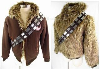 Marc Ecko Star Wars Chewbacca Jacket Coat XL Reversible Faux Fur
