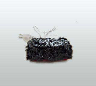 Dollhouse Miniature Glowing Fireplace Embers A019071