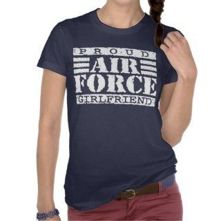 Air Force Girlfriend Tees