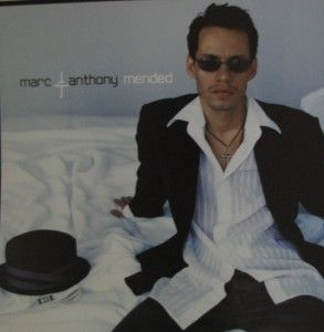 Marc Anthony Promo Album Poster Flat MENDED