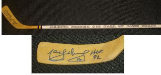 Marcel Dionne Autographed Signed Hockey Stick Los Anegels Kings w COA