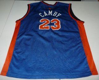 Vintage Champion Marcus Camby New York Knicks NBA Basketball Jersey