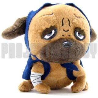 Pakkun Bull Dog Plush Doll Anime Manga Officially Licensed Product New