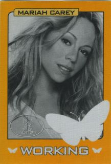Mariah Carey 2003 Charmbracelet Tour Backstage Pass