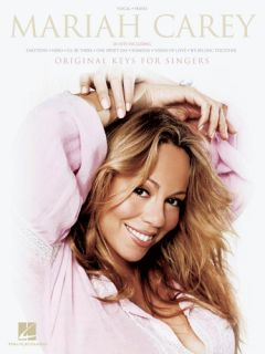 Mariah Carey Original Keys for Singers Vocal Piano