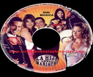 Telenovela La Hija Del Mariachi Completa DVD Colombia Lujo mas Bonos
