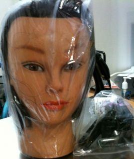 Marianna 21 Cosmetology Mannequin Head 100 Human Hair Miss Kim w Free