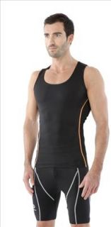 New Base Layer Top tight Sleeveless Shirt Compression Fitness yoga