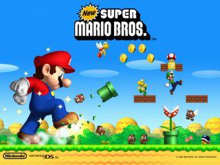 New Super Mario Bros Nintendo 2006 DSi XL Lite NTSC Game Canada USA