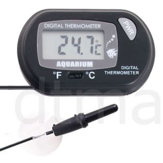 Digital LCD Fish Aquarium Tank Marine Water Thermometer