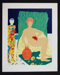 Marion McClanahan Mannequin Woman Cat Art 1979