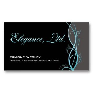 Personalize this chic Elegance profile card by Stylish Business