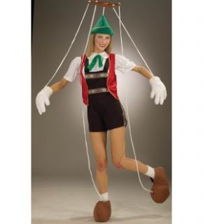 Marionette Puppet Adult Standard Costume Brand New
