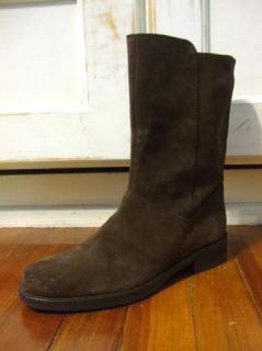 158 JCrew Templeton Suede Boots 8 5 Shoes Chocolate