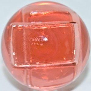 Marble Mark Matthews Pink Glass Trapazoid