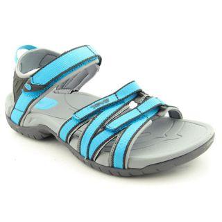 Teva Tirra Womens Size 9 Blue Cyan Blue Open Toe Textile Sports