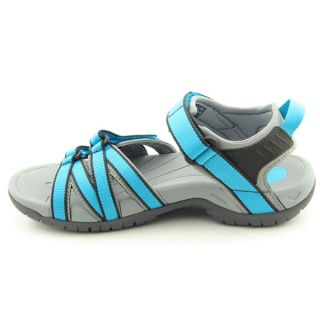 Teva Tirra Womens Size 9 Blue Cyan Blue Open Toe Textile Sports