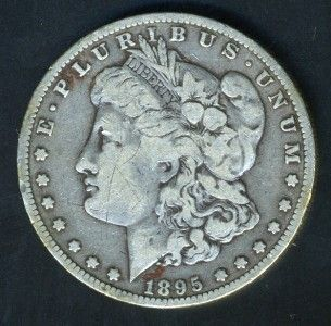United States 1895 O Morgan Silver Dollar as Shown