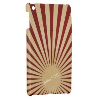 Grunge Sunburst iPad Mini Case Template