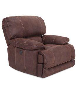 Fabric Power Recliner Chair, 44W x 42D x 41H   furniture