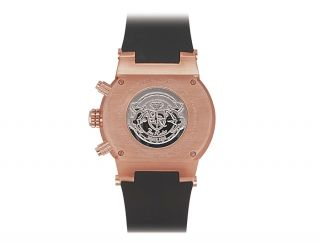 Joe Rodeo Broadway 5 00 Ct Diamond Mens Rose Gold Color Steel Watch