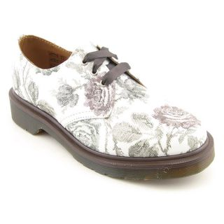 Dr Doc Martens Pascal Gray White Oxfords Shoes Womens 9