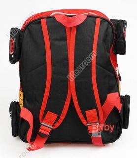 Disney Pixar Car Lightning McQueen Backpack Shoulder School Bag Baby