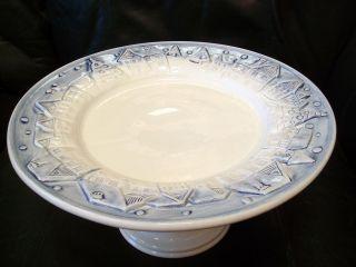 Marshall Fields Christmas Holiday Ceramic Pie Plate