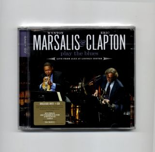 Wynton Marsalis Eric Clapton Play The Blues Live CD DVD Deluxe EU New