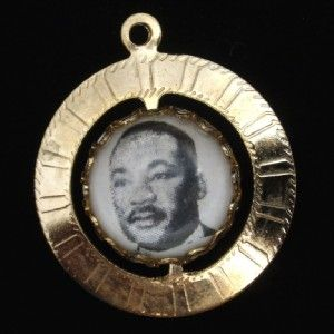 MLK Martin Luther King Spinner Charm Southern Christian Leadership