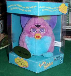 1999 Special Wal Mart Limited Edition Furby Baby Model 70 951