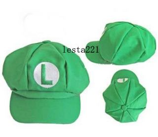 Super Mario Bros Cap Anime Cosplay Super Mario M Super Mario L Hat 4