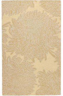 Martha Stewart Living Chrysanthemum Area Wool Rug Hand Turfted Runner