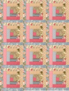 Ro Gregg 12 Log Cabin Pre Cut Quilt Kit Martindale