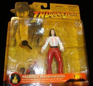 Indiana Jones Marion Ravenwood Monkey 2003 New Disney