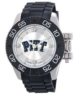 Game Time Watch, Mens University of Pittsburgh Black Polyurethane