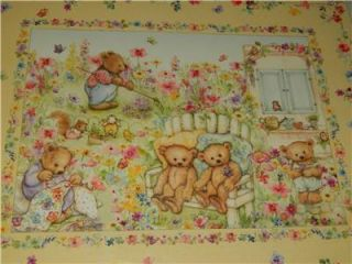 Marys Bears in The Garden 1000 PC Jigsaw Puzzle New Springbok Teddy