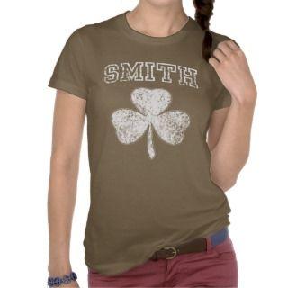 Irish Smith Shamrock t shirt