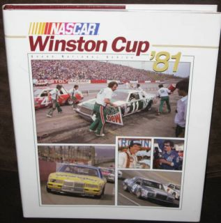 NASCAR Winston Cup Grand National Series Yearbook 1981 HC w DJ Umi