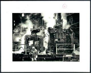 MC PHOTO aau 040 Bethlehem Steel Grey Mill Business Bethlehem Steel