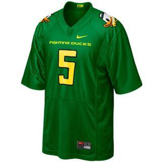 Nike Oregon Ducks Mascot Game Day 5 XXL Twill Jersey Darron Thomas