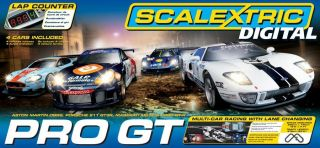 Scalextric C1260T Pro GT Digital Race 1 32 Scalectric Slot Car Set 4
