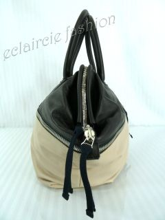 Marni Limited Edition Vitello Zipper Color Block Tote Shoulder Bag