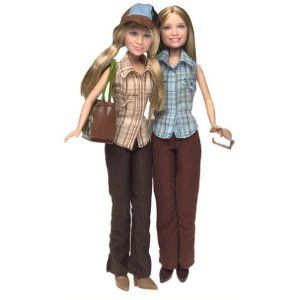 Mary Kate and Ashley Getting There 2 Doll Gift Set