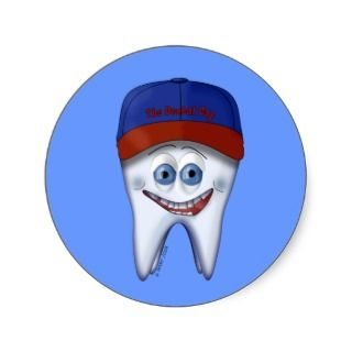 The Dental Cap sticker